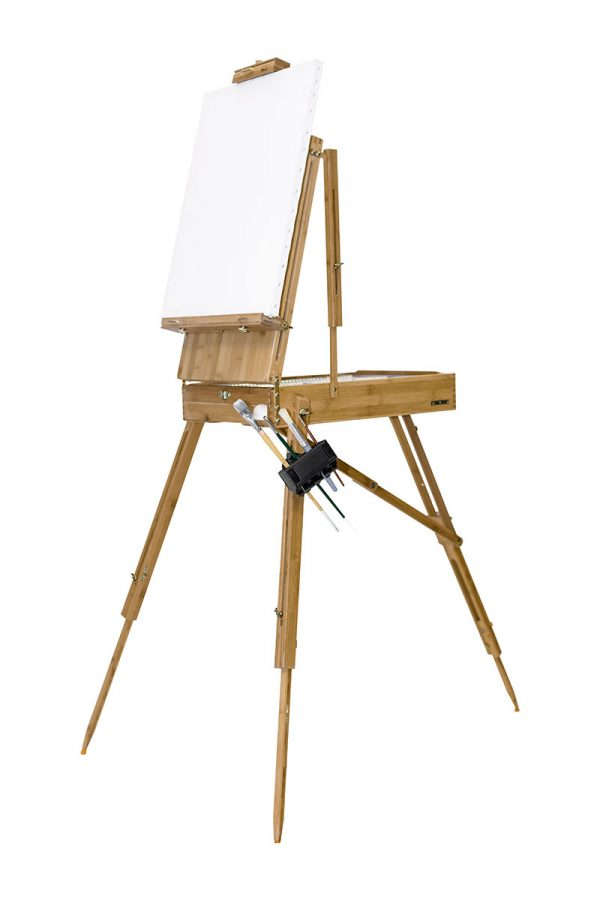 Brush Grip Mounted French Easel