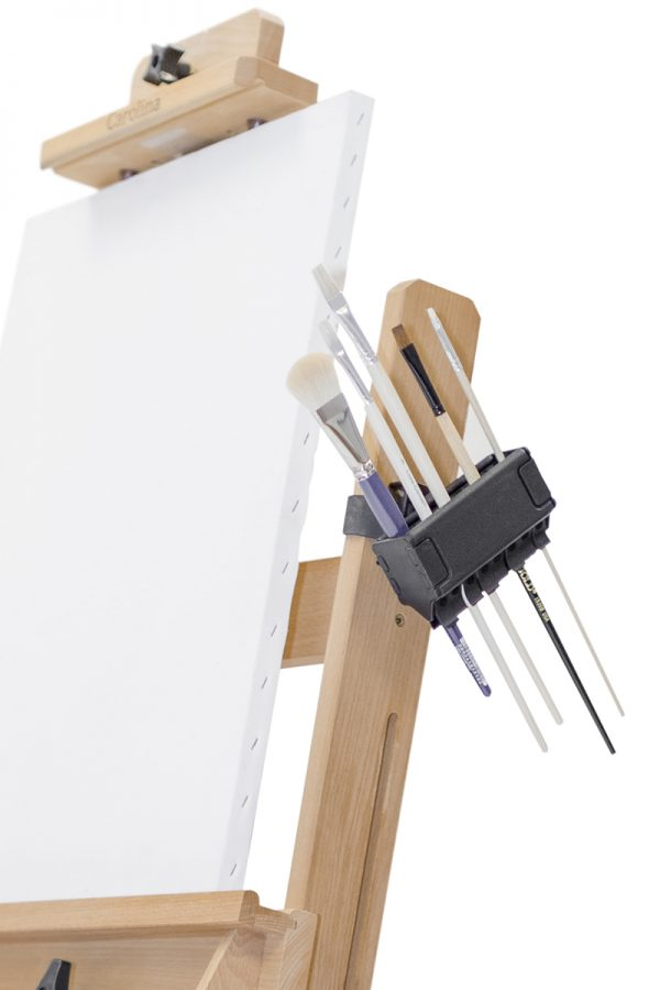 Brush Grip Mounted Studio Easel