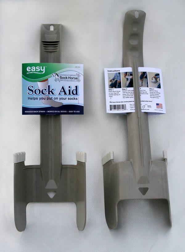Sock Horse Sock Aid Front Back